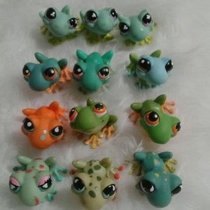 Littlest Pet Shop Frog lot5
